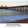 Malibu Pier, Before Sunset, Seascape, Malibu California