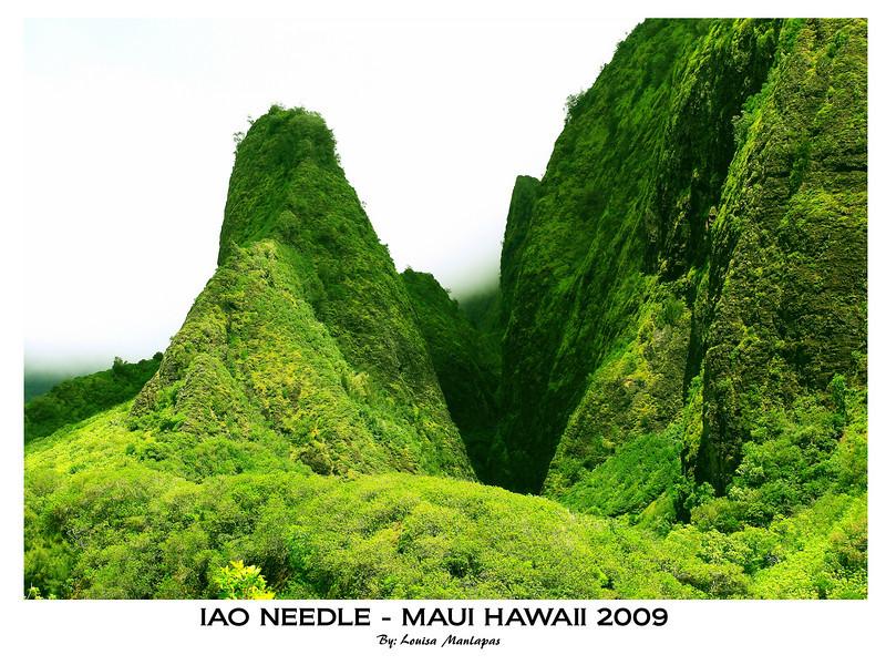 Iao Needle, Iao Valley State Park, Maui Hawaii