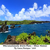 Blue Skies and Blue Water at Wai'anapanapa