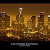 Los Angeles at Night, Los Angeles Downtown, Night Shot, Long Exposure