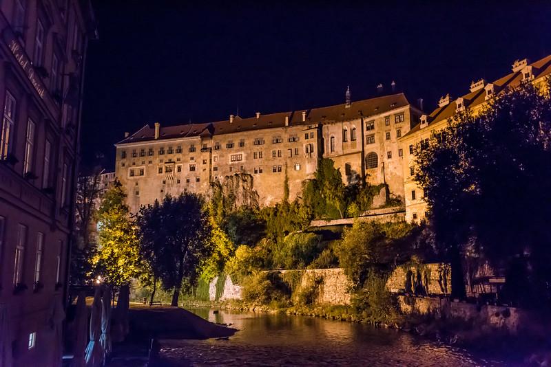The Cesky Krumlov Castle (2017)