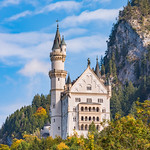 The Neuschwanstein Castle in the Bavarian Alps (2017)