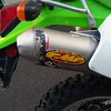 FMF Q4 pipe gives the engine some pep.