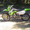 I was looking for a trail bike with electric start. The KLX fit the bill.