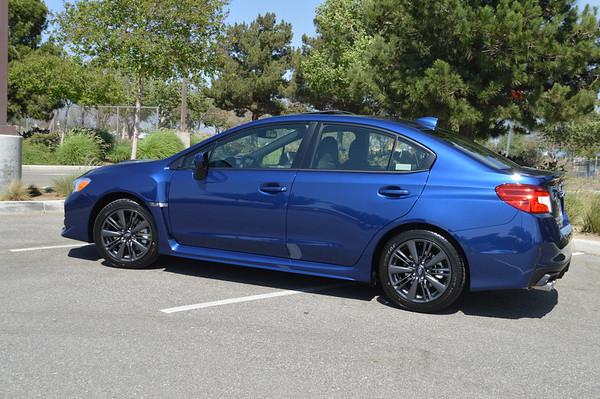 My Blue Subaru