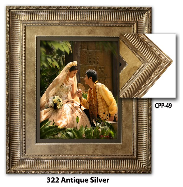 322 Antique Silver