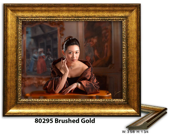 80295 Brushed Gold - Amberwood