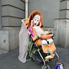 Winner of the Ugly Baby contest , and a clever street show.