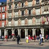 A lively plaza filled with color, art, and welcoming Spaniards.