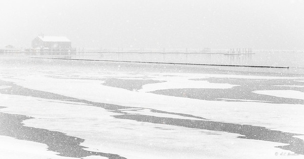 Provincetown in a snow storm