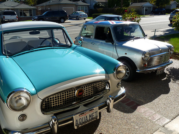Phyllis & Craig's Brit cars