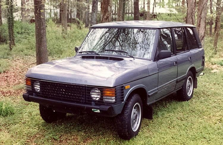 1985 Range Rover Vogue Edition - Gray Market import and my first Range Rover