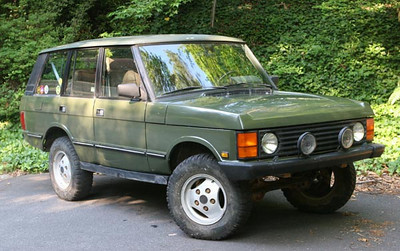 1991 Hunter Edition Range Rover - cloth seats, no sunroof - best of the Range Rover Classics