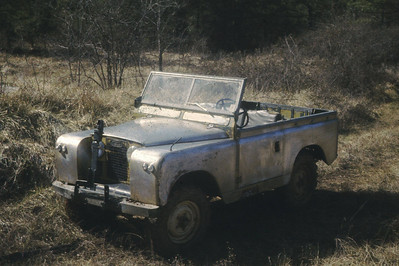 1967 SIIA Land Rover in 1976