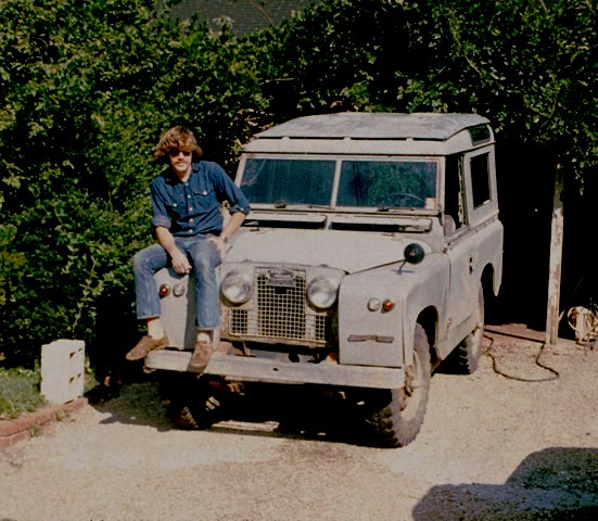 My first Land Rover purchased in 1972 - a 1961 Series II with a Ford 289 V-8 stuffed under the hood - fast but it had terminal rust in the rear frame.