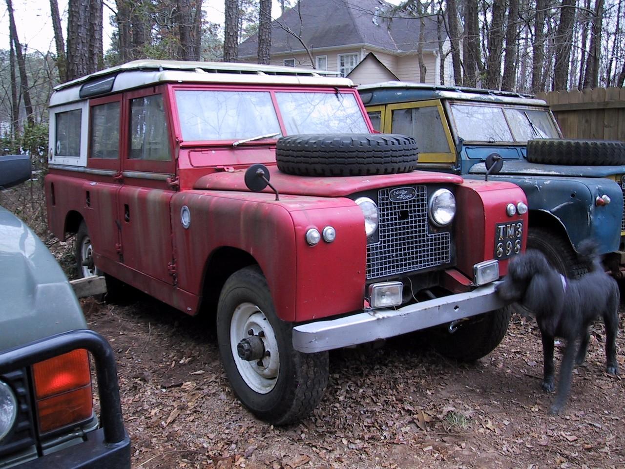 1967 SIIA NADA six- cylinder station wagon
