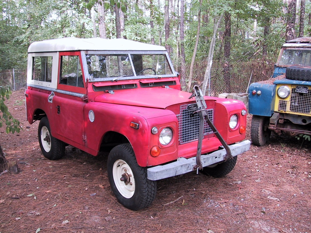 "1971 SIIA 88"" with only 42,000 miles - purchased from original owner"