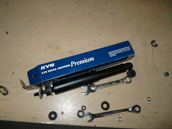 New KYB shock