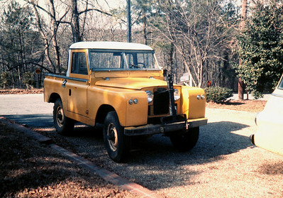 1967 Series IIA Land Rover