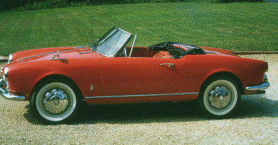 My dad's 1960 Alfa Romeo Guilietta Spider - first car I ever drove (age 14) - started the lifelong obsession with interesting cars.