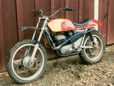 OSSA 230cc Pioneer - somewhere around a 1967-8 model - at one time I had most of the pieces of around 14 Ossa motorcycles.