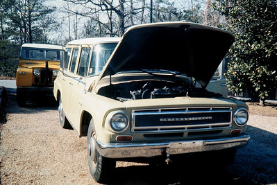 1967 International Travelall - this beast had an insatiable appetite for gasoline - probably the worst fuel mileage of anything I've ever owned - 8 MPG  was not unusual. The A/C system would almost make ice cubes however.