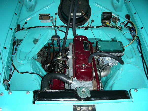 1960 Nash Metropolitan 1500cc engine