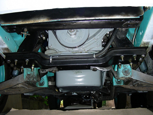 1960 Nash Metropolitan undercarriage
