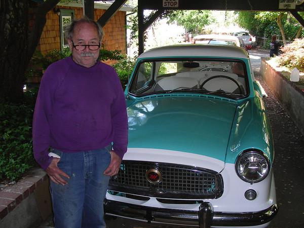 Harold DeMoss, the restorer of the Nash Metro