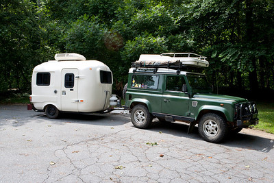 "1984 U-Haul CT-13 travel trailer. Similar to my 13"" Boler but in better condition - plus it has A/C!"