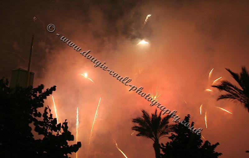 Fireworks in Bilbao