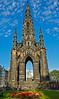 Scott Monument in Edinburgh - 7 August 2014