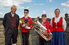 Norwegian Band Members at Edinburgh Castle - 7 August 2014