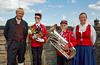 Norwegian Band Members at Edinburgh Castle - 7 August 2014