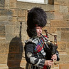 Lone Piper in Edinburgh - 7 August 2014