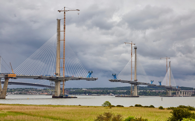 New Forth Road Bridge at Edinburgh - 1 July 2016