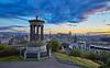 Calton Hill in Edinburgh - 27 August 2015