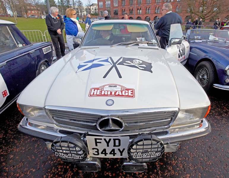 Mercedes Benz - Monte Carlo Classic Rally - Peoples Palace - 26 January 2013