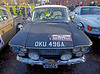 Fiat 1500 at Monte Carlo Classic Rally - Peoples Palace - 26 January 2013