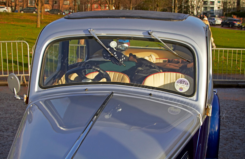 Ford Popular at Monte Carlo Classic Rally - Peoples Palace - 26 January 2013