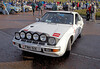 Porsche 924 Turbo at Monte Carlo Classic Rally - Peoples Palace - 26 January 2013