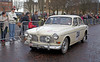 Volvo Amazon - Monte Carlo Classic Rally - Peoples Palace - 26 January 2013