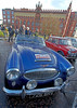 Austin Healey at Monte Carlo Classic Rally - Peoples Palace - 26 January 2013