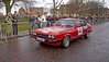 Ford Capri at Monte Carlo Classic Rally - Peoples Palace - 26 January 2013