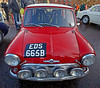Mini Cooper S at Monte Carlo Classic Rally - Peoples Palace - 26 January 2013