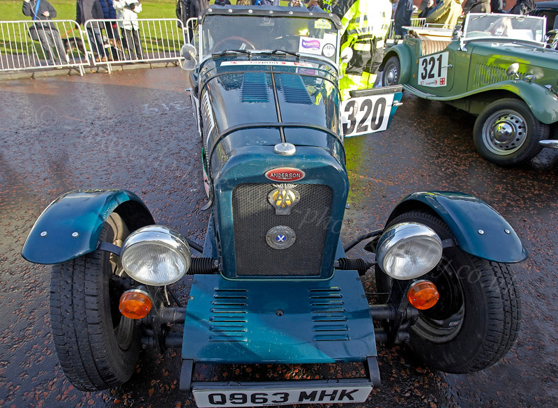 Anderson at Monte Carlo Classic Rally - Peoples Palace - 26 January 2013