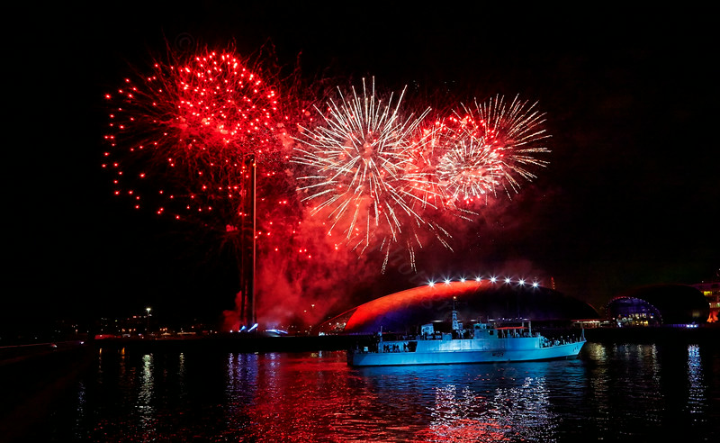 'Sound to Sea' Event at Pacific Quay - 1 August 2014