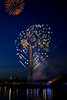 Fireworks at the 'Sound to Sea' Event at Pacific Quay - 1 August 2014