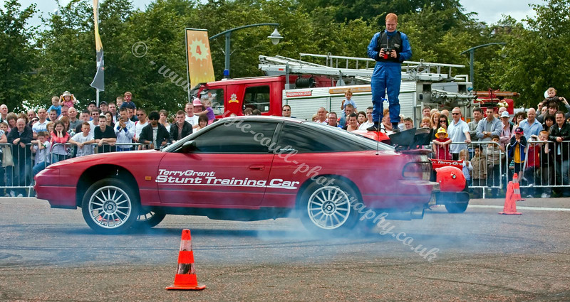 Glasgow Festival - Terry Grant Stunt Cars
