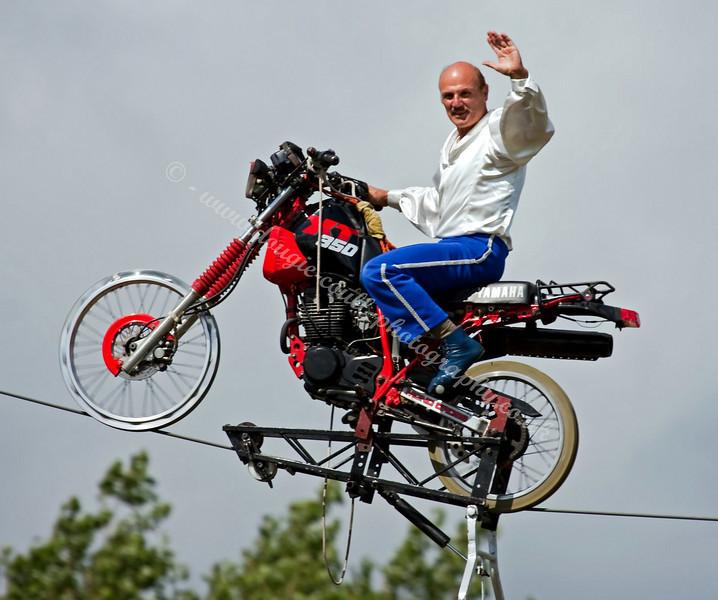 Jean Monti Stunt Show - Glasgow Festival